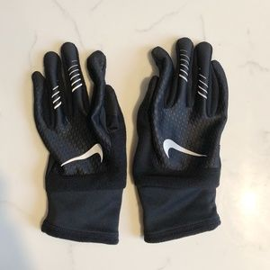 Nike Men's Fleece-Lined Running Gloves, Size L